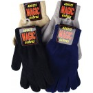 """Magic"" stretchy warm gloves in assorted colours (grey, black, navy, camel)"