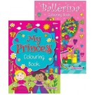 Princess Ballerina colouring book