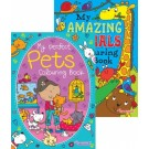 perfect pets and amazing animals colouring