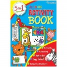 5-In-1 Activity Book