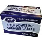 self adhesive address labels