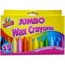 Jumbo wax crayons