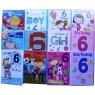 Age 6 birthday cards - boys