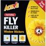Fly trap window sticker